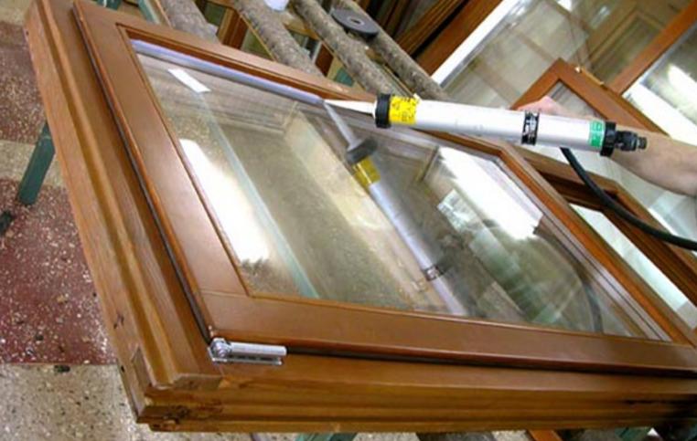Стеклопакеты — использование герметика