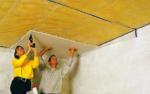 Стоп Шум: шумоизоляция потолка в квартире